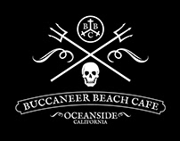 Buccaneer Beach Cafe branding project