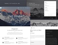 Yeti Media - New Website