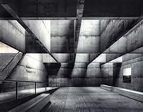 Concrete Exhibition Hall