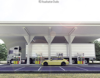 Automatic Gas Station