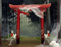 Samurai Riot   Environments designs