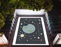 Tesla Poster Design