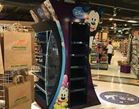 Disney floor stand