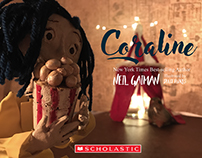 Coraline by: Neil Gaiman 3D Illustrated