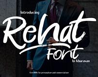 Rehat Script Free Font Download