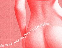 TFE - L'Orée des désirs - Affiche