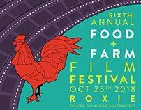 Food+Farm Film Festival Poster 2018