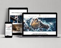 andrademora.com - responsive website