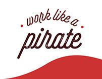 Work like a pirate