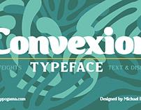 Convexion typeface
