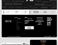 Davo Cozinha Website