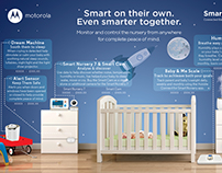 Smart Nursery Ad for Motorola
