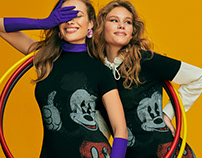 Desigual for Mickey Mouse SS'21 Campaign