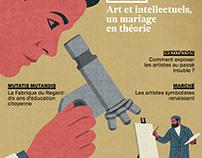 Cover for l'hebdo du Quotidien de l'Art.