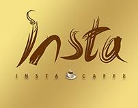 Logo Design for insta Caffe  تصميم لوكو لكافيه انستا