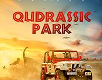 Qudrassic Park - Poster