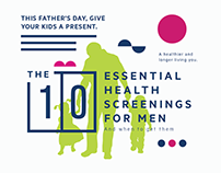 10 Essential health screenings for men