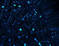 Futuristic Concept of Internet Server Data 4K
