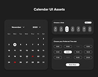 UI Assets-Calendar