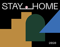 Poster/StayHome/Covid-19