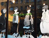 JNBY show-window