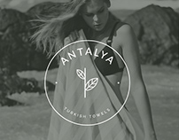 Minimal logo for Antalya turkish towels