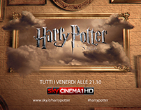 Sky Cinema | Harry Potter - Channel Identity