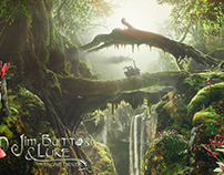 Jim Button - Matte Painting