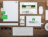 Total Pro Landscapes ltd Branding