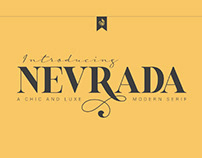 FREE | Nevrada Chic & Luxe Serif