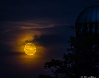 Augest, 29th. Full-moon Supermoon