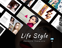 Life Style Keynote Template