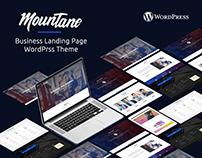 Mountane l Business Landing Page - wordpress theme