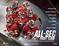 2016 Alabama Football Postseason Awards