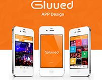 Gluued App Design