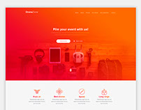 DroneZone Landing page
