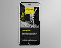 IMPULSOR · Diseño web