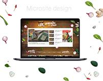 Microsite design