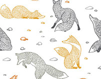 FOX PATTERN collaboration with K. Khamsi for Pikku
