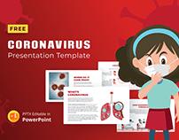 Coronavirus Free Powerpoint Presentation Template