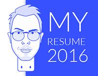 My resume 2016