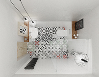 CGI | Small loft in Cracow
