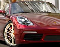 Porsche Boxster 718 | FULL CGI