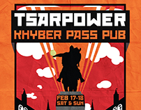 Khyber Pass Pub Brew Poster