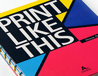 Print Like This - Interactive Book