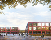 High School in Bochum