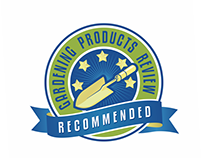 Logo for 'Gardening Products Review Recommended'