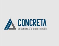 Logotipo Concreta Engenharia e Construção