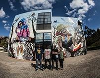 Mural Ocupação Sesi Santana do Parnaíba SP | 2015