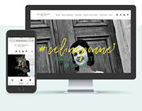 CÉLINE PONNET MUA | Identité et Ergonomie web